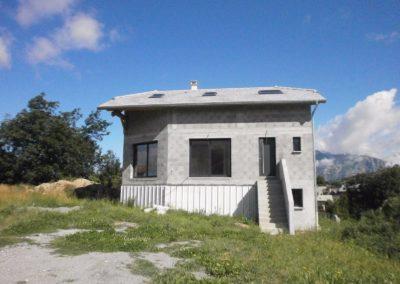 Maçonnerie-maison vers Gap